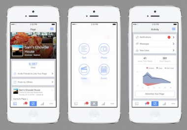 برمجة صفحتك فيس بوك وتحويلها إلى تطبيق اندرويد ب 5$