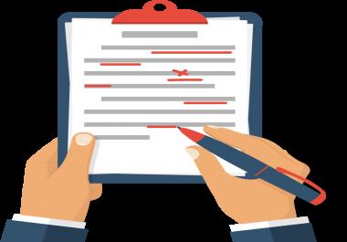 التدقيق اللغوي الإحترافي وإعادة الصياغة لمقالاتك العربية