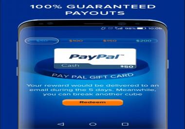 العمل بدلا عنك في التطبيق الصادق والمشهور learn cash pp وتتوصل ب 50 دولار أو أكثر حسب الطلب