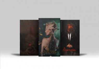 تصميم غلاف كتاب أو مذكره وجهين بشكل احترافي بـ 10 $