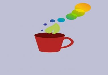 تصميم لوجو وكارت شخصي للعمل design logo