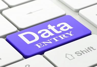 إدخال بيانات عبر برامج ميكروسوفت اوفيس