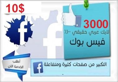 تزويد 3000 لايك حقيقي للبيدج على الفيسبوك فقط ب 10 دولار