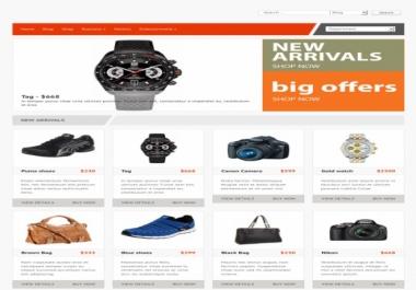 تصميم متجر على ووردبريس لترويج منتجات التسويق بالعمولة