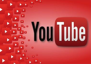 أحصل على  2000 مشاهدة على اليوتوب مقابل 5$ فقط