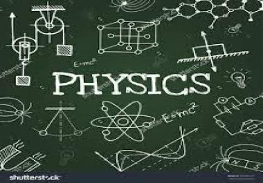 اقدم لك كل ماتحتاجه في علم الفزياء