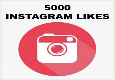 إضافة 5000 لايك حقيقين على حسابك أنستقرام ب5 دولار فقط
