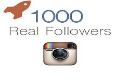 1000 متابع على الانستغرام