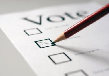 تحدى منافسيك واحصل على 50 تصويت او اعجاب او لايك او رتويت لصالحك اذا كان لديك مسابقة