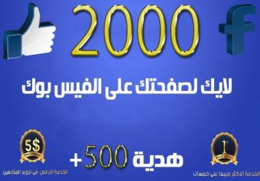 زيادة لايكات لصفحتك علي الفيسبوك من جميع دول العالم متفاعلين وبطرق شرعيه