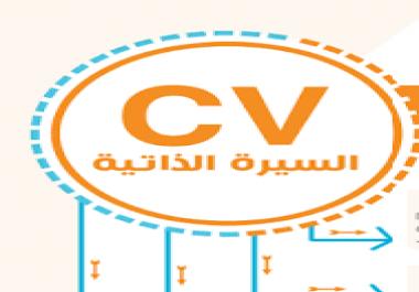 كتابة سيرة ذاتية بطريقة احترافية باللغة العربية أو الانجليزية