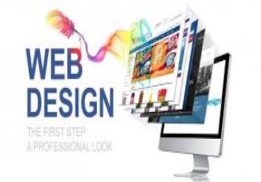 سوف أقوم بتصميم موقعك فقط بإحترافية و بجودة عالية