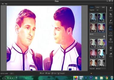 تعديل الصور وعمل لهم فيديو بجودة HD
