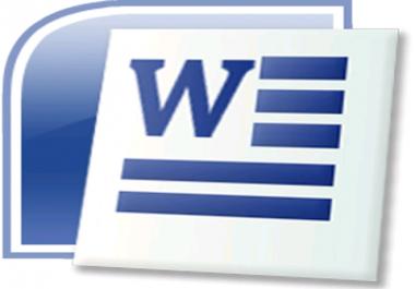 كتابة وتنسيق بإستخدام برنامج word