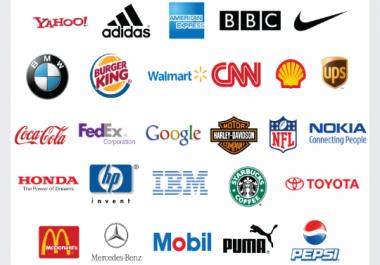 تصميم أكثر من شعار بكل الطرق والتصاميم واحترافيه وأيضا تصميم لإسمك بالعربي او لمدونتك