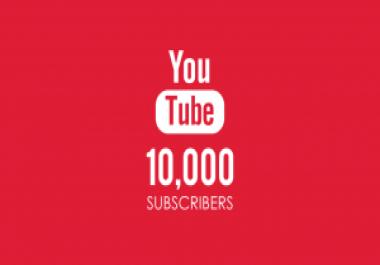 10 الاف متابع علي يوتيوب مقابل 25$ فقط