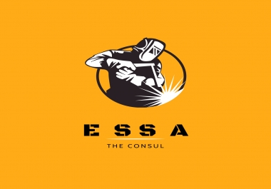 تصميم شعار  logo  احترافي لشركتك او محتواك التجارى
