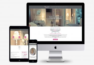 بتصميم موقع إلكتروني لك بأرخص ثمن ممكن