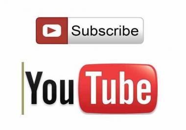 500 مشترك Youtube Subscribers لقناتك فقط
