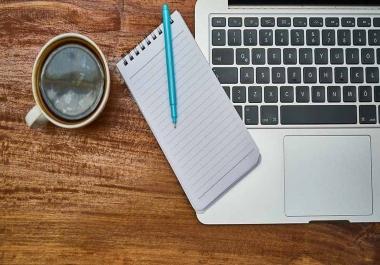 ساكتب لك مقال في اي مجال تحب من 500 كلمة مقابل 5$