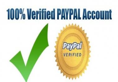 سوف اقوم بإنشاء لك حساب باي بال PayPal مفعل %100 مقابل 10 دولار