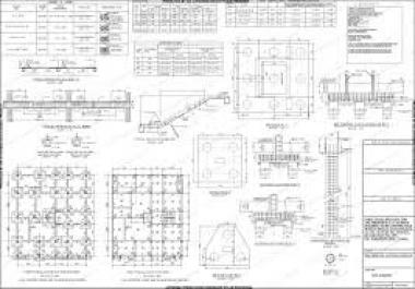 تصميم معماري و انشائي لكافه المنشئات الخرسانيه والمعدنيه sap2000 ETABS SAFE autocad