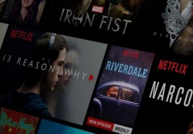 فتح حسابات نيتفليكس Netflix premium خلال دقائق