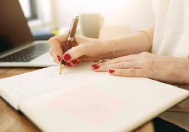 تفريغ المذكرات المكتوبة بالأيدي على MS Word