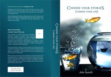 تصميم غلاف كتاب احترافي باللغة العربية أو الإنجليزية