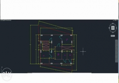 تصميم رسومات كهربيه Dوفنيه باستخدام الاوتوكاد 2
