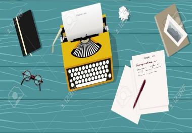 كتابة المحتوى الإبداعي.