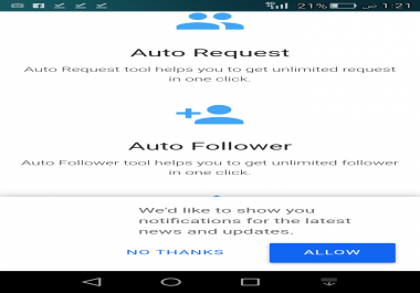 Add followers facebook100 every 15 minutes