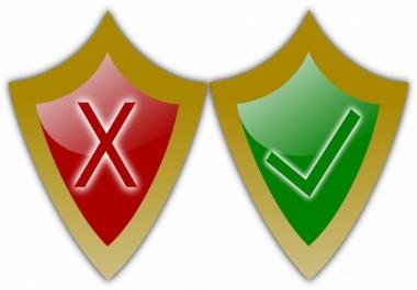 اذالة الفيروسات من موقعك واذالة تنبيه جوجل
