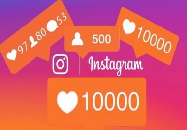 5000 لايك أو متابعين على الانستڨرام