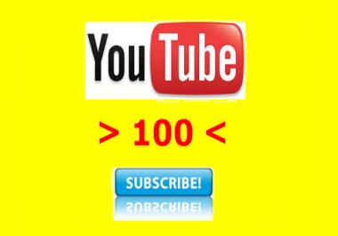 احصل على 100 مشترك على اليوتوب
