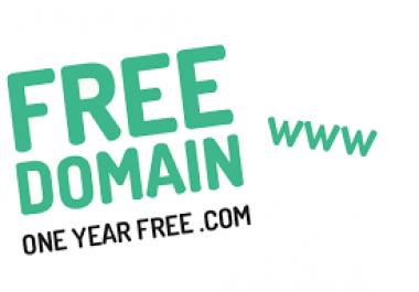 دومين مجاني لمدة 12 شهرا   عام كامل . قم بفتح موقعك الان و أبدأ بجني المال...