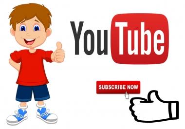اضافة 5000 متابعين على اليوتوب بثمن جد مناسب