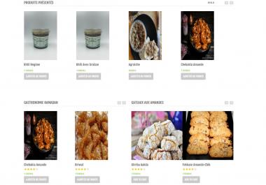 Site e commerce agro alimentaire