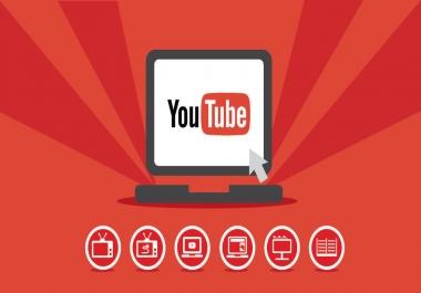 ساعة من المشاهدات على يوتيوب حقيقية و امنة