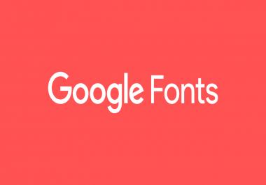 تجميل موقعك بإضافة مجموعة كبيرة من أجمل الخطوط اكتر من  20 خط لأي لغة تريد