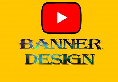 سأقوم بتصميم غلاف يوتيوب عصري و محترف.