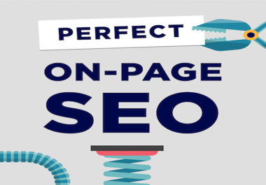 إعطائك النصائح التعديلات اللازمه لموقعك بالكامل On Page SEO