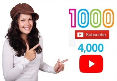 جلب أكثر من 1000 مشترك حقيقي وآمن 100% لأي قناة على اليوتيوب بضمان وهدايا ومميزات رائعة جدًا