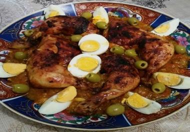 تعليكك الطريقة الصحيحة لتحضير اودجاج المحمر المغربي