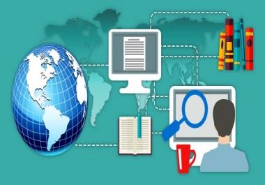 أكثر من 170 موقع ومحرك بحث حول الأبحاث والدراسات ب 5$