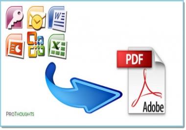 تحويل ملفات WORD الىPDF ودمج ملفات PDF في ملف واحد في وقت قياسي 45 صفحة ب5$