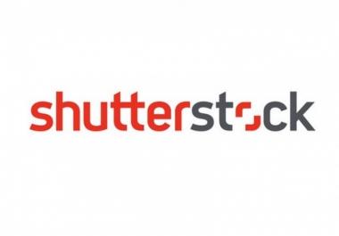 أشتري لك أى صورة أو فيكتور من موقع شتر استوك shutterstock
