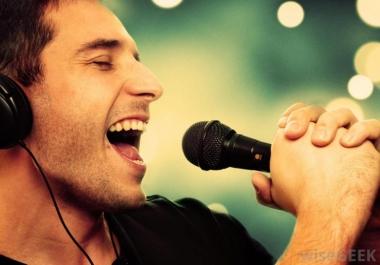 عمل اغنية رائعة أو نشيد لك أو لشخص تحبه و مضافة لها لحن وموسيقي فيديو تعبيري غاية في الاحترافية