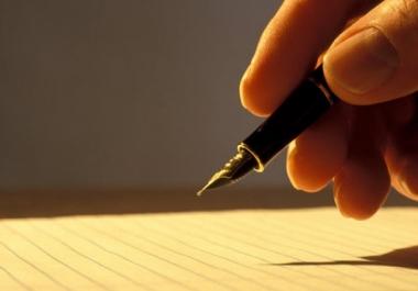 كتابة السيرة الذاتية بالغتين الانجليزية والعربية