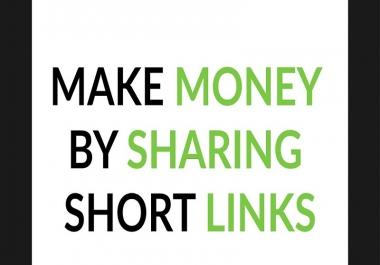 تعليمك كيفية كسب المال من مواقع اختصار الروابط